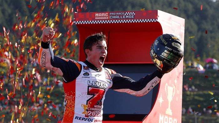 Inilah 3 Fakta Marc Marquez Ancam Rekor Valentino Rossi
