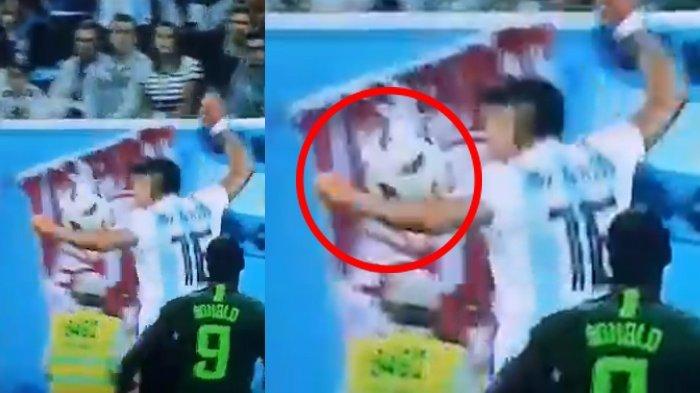 Argentina Melenggang ke Babak Knock Out, Insiden Marcos Rojo Jadi Bumbu Penyedapnya!