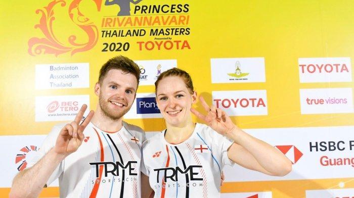 Hasil Thailand Master 2020 - Hafiz/Gloria Kalah, Marcus Ellis/Lauren Smith Juara Ganda Campuran