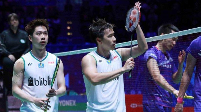 Kevin Sanjaya Sukamuljo Positif Covid-19 Batal Ikut Turnamen Yonex Thailand Open 2021