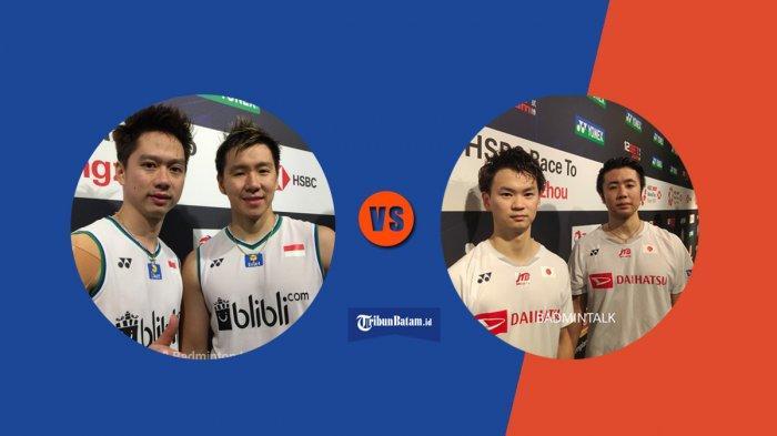 Final All England 2020, HEad to Head Marcus/Kevin vs Hiroyuki Endo/Yuta Watanabe