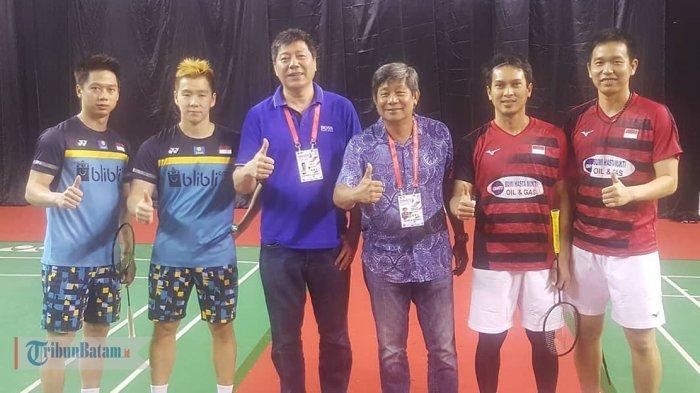 HASIL FINAL INDONESIA MASTER 2019 - Menang Mudah atas Hendra/Ahsan, Marcus/Kevin Juara Ganda Putra