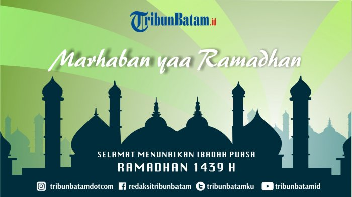 Jadwal Berbuka Puasa Wilayah Tanjungpinang dan Bintan Hari ke 15 dan Waktu Imsak Jumat, 1 Juni 2018
