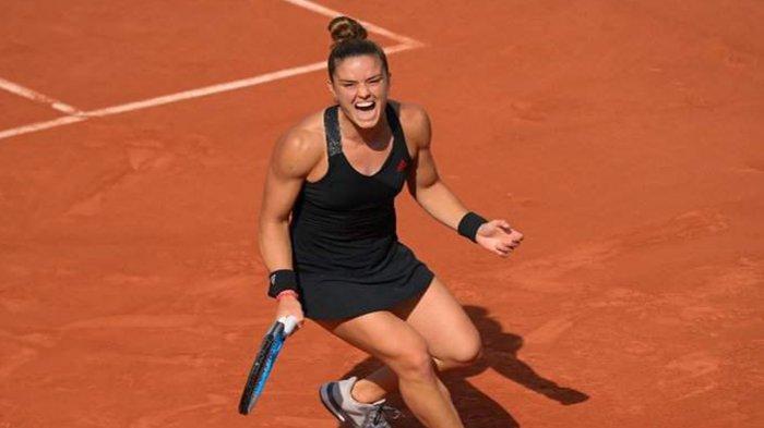 Hasil Prancis Open 2021, Maria Sakkari Petenis Putri Yunani Pertama ke Perempat Final Roland Garros