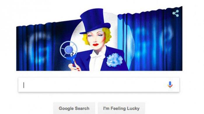 Marlene Dietrich - Siapakah Dia? Perempuan Berambut Pirang Ini Tampil Jadi Sosok Google Doodle