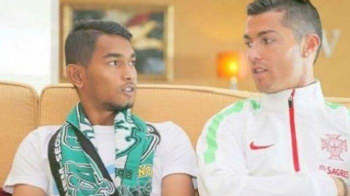 Sempat Tolak ke Man United, Martunis Anak Angkat Ronaldo Kini Jadi Kader Partai Demokrat