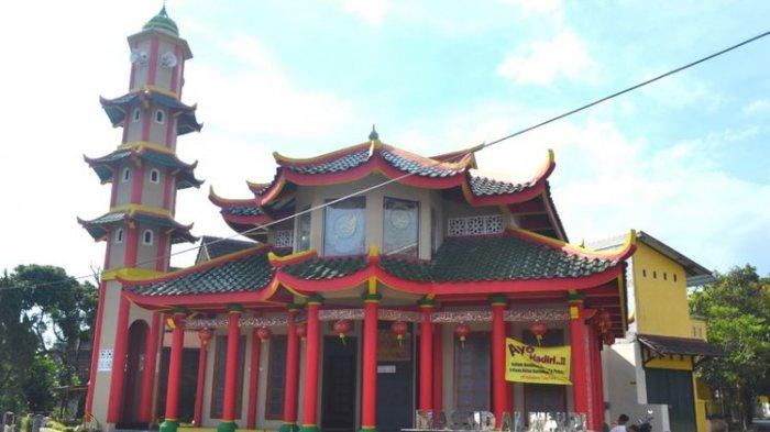 Bikin Penasaran! Muslim Tionghoa Bangun Masjid Arsitektur Khas China di Magelang