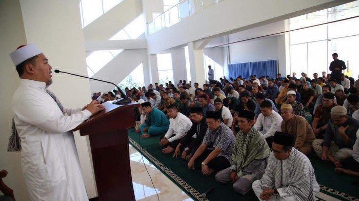 Masih Zona Hijau, Masyarakat Anambas Ramaikan Masjid untuk Salat Berjemaah, Fardhu dan Jumat