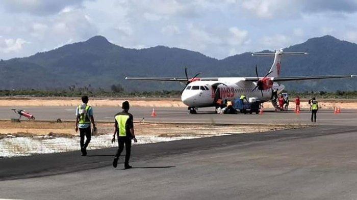 Kasatpel Bandara Letung Anambas Lobi Pertamina Bangun Fasilitas Pengisian Bahan Bakar Pesawat