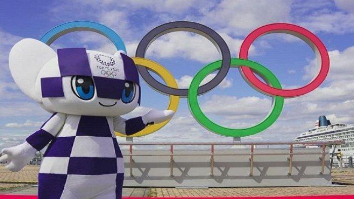 Miraitowa, salah satu maskot Olimpiade Tokyo 2020