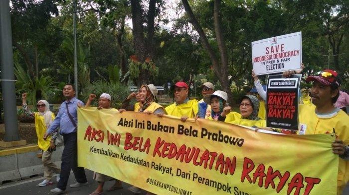 GNKR Bantah Aksi Turun ke Jalan Saat Sidang Sengketa Pilpres untuk Dukung Prabowo-Sandi