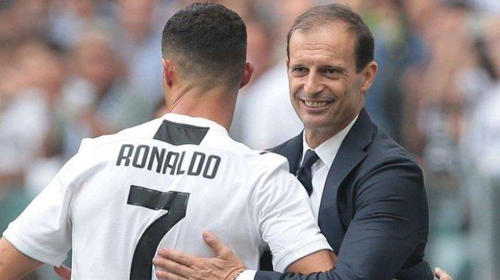Juventus Ditinggal Cristiano Ronaldo, Max Allegri Terpaksa Ubah Taktik ke Formasi 4-4-2