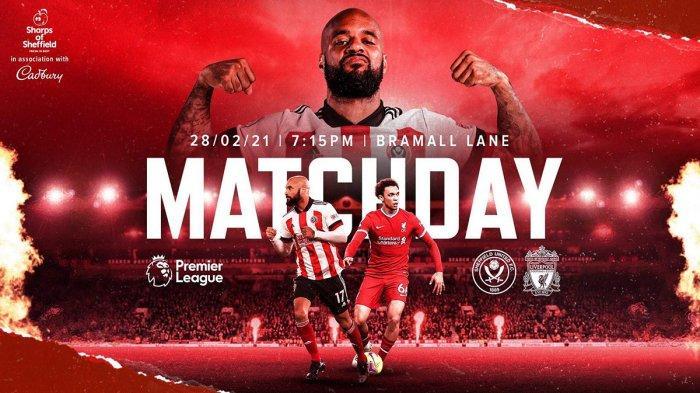 Sheffield vs Liverpool Live NET TV 02.15 WIB, Juergen Klopp: Situasi Sulit Bikin Saya Semangat