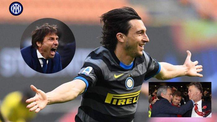 Inter Milan di Ambang Juara Liga Italia, Darmian: Antonio Conte Lebih Hebat dari Van Gaal & Mourinho