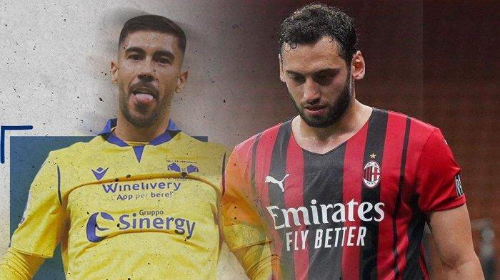 Transfer AC Milan - Hakan Calhanoglu Belum Jelas AC Milan Bidik Pemain Hellar Verona Mattia Zaccagni