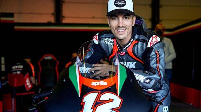 Maverick Vinales akan debut bersama tim Aprilia di MotoGP Aragon 2021, Minggu (5/9/2021)