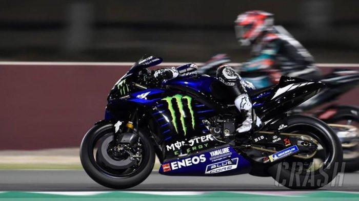 Tes MotoGP Qatar, Yamaha Mulai Tampil Garang. Valentino Rossi: Yamaha Harus Terus Seperti Ini