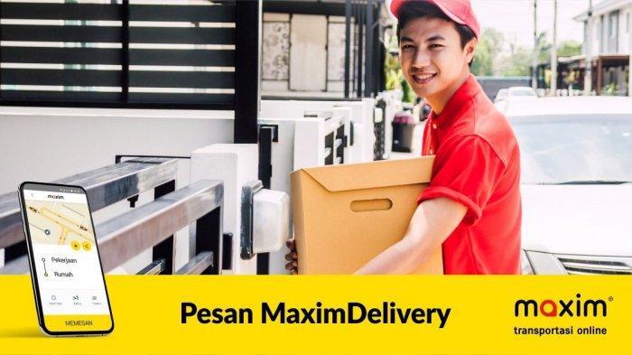 Maxim Delivery, Solusi Kirim Barang Dengan Aman, Mudah dan Efisien