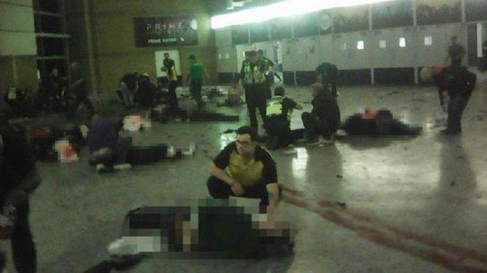 Tubuh Pelaku Bom Bunuh Diri di Manchester Terlempar Jauh