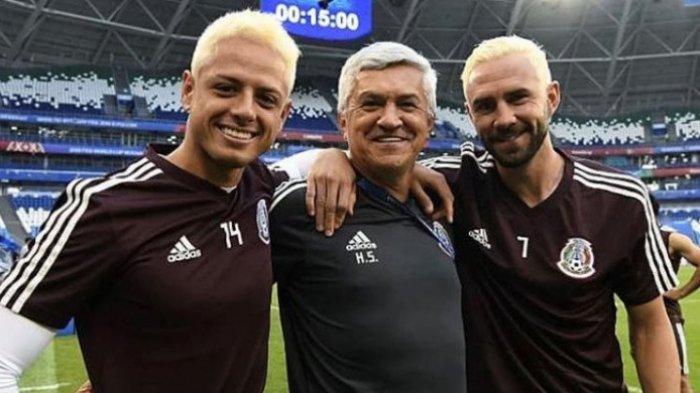 Tantang Brasil, Rambut Pemain Meksiko Semua Jadi Pirang! Usir Kutukan Rumania?