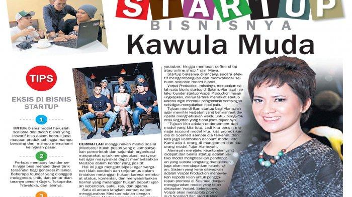 Yuk, Coba Bisnis Startup! Bisnisnya Kawula Muda