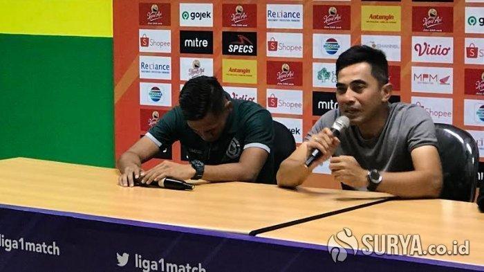 Menang Lawan Persebaya Surabaya, Pemain PSS Sleman Ini Justru Menangis saat Konferensi Pers