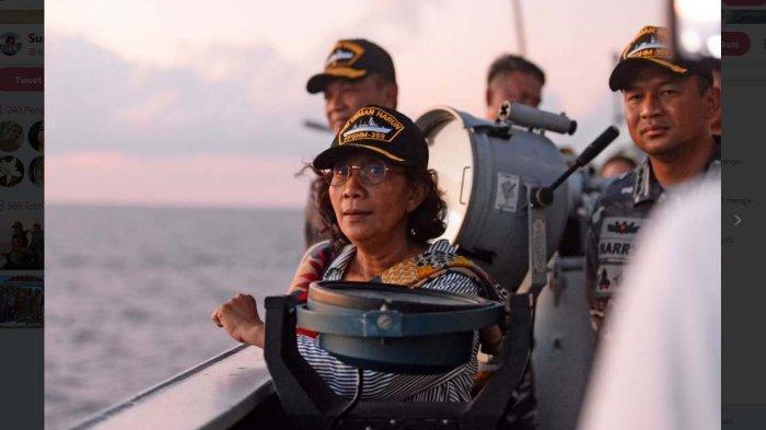 Mentri Susi Pudjiasturi Ke Batam, Bahas Masalah Ilegal Fishing dan Penyelundupan Lobster