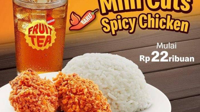 Menu Hemat Mc Donald's, Rp22 Ribu Dapat Mini Spicy Chicken, Nasi, dan Lemon Tea