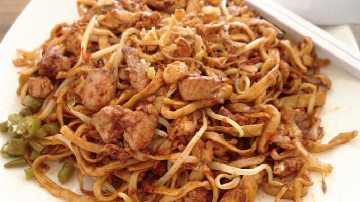 Mie goreng Tarempa, salah satu menu andalan Mie Tarempa.