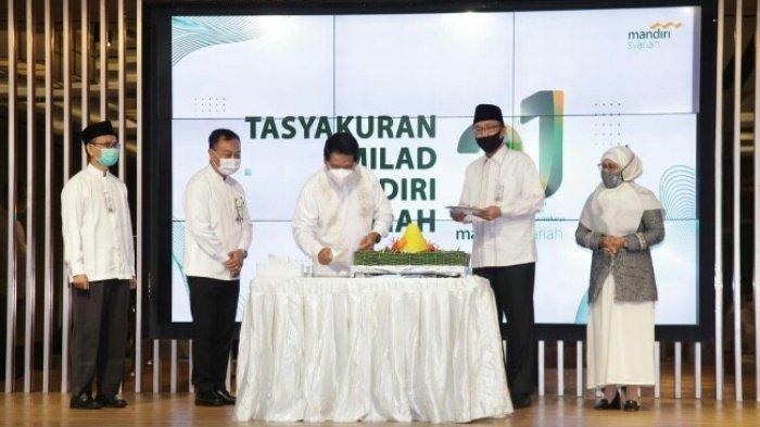 Milad ke-21 Bank Syariah Mandiri, Gelar Program Peduli dan Berbagi