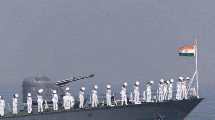 Militer India kerahkan kapal perang ke Laut China Selatan