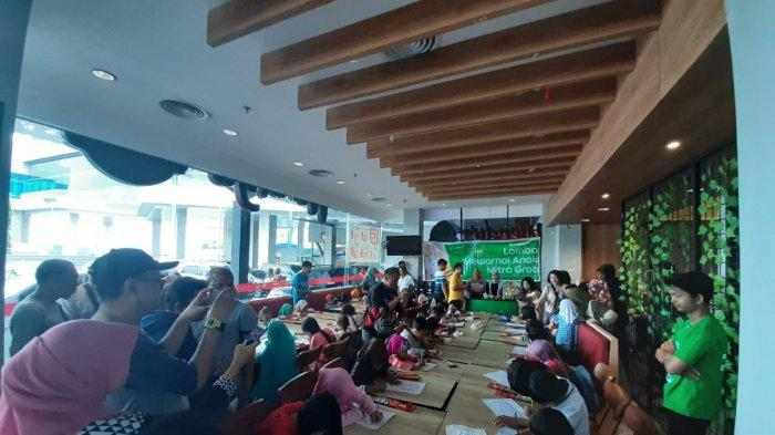 Grab Batam Holds Coloring Contest For Children of Grab Partners