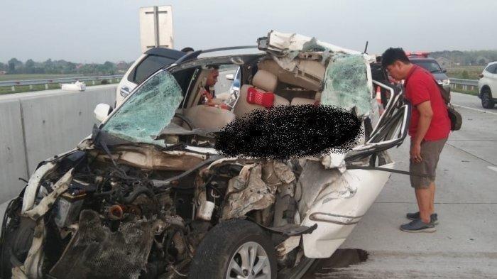 Mobil Terios Tabrak Fuso di Tol Pejagan-Pemalang, Tiga Orang Tewas, Begini Kronologi Versi Polisi