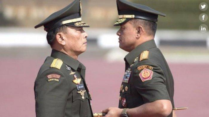 Kharisma 2 Jendral Mantan Panglima TNI, Moeldoko dan Gatot Nurmantyo Beda Pandangan di Demokrat