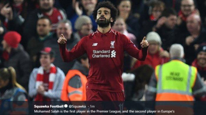 Rumor Transfer Liverpool, Kabar Mo Salah ke Liga Spanyol, Gabung Real Madrid atau Barcelona?