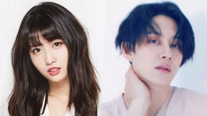 Dikonfirmasi Pacaran, Intip 5 Momen Manis PDKT Momo TWICE dan Heechul Super Junior