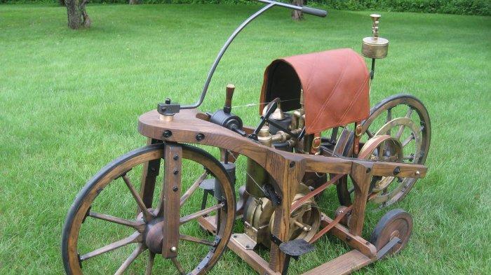 Klasik, Begini Penampakan Reitwagen, Sepeda Motor Pertama di Dunia Berkecepatan 11 Km/jam