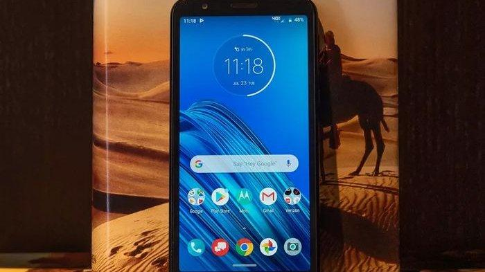 HP ANDROID TERBARU 2019 - Motorola Rilis Moto E6 Seharga 2 Jutaan