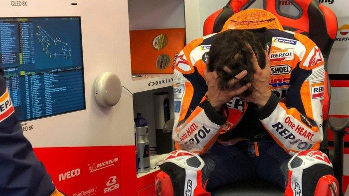 Dua Kali Jatuh dan Gagal Finish di MotoGP Prancis 2021, Marc Marquez Akui Terlalu Agresif