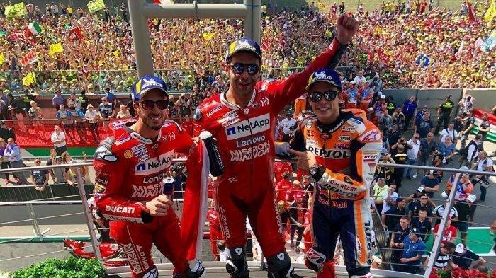 Klasemen MotoGP 2019 Terbaru, Valentino Rossi Geser Vinales, Marc Marquez Kokoh Dipuncak