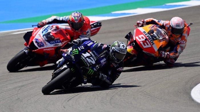 Klasemen MotoGP 2020 Setelah Valentino Rossi Podium Race Andalusia, Vinales Tempel Quartararo