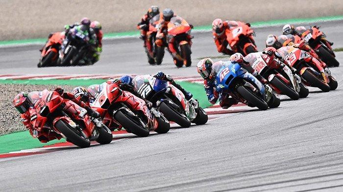 Hasil Kualifikasi MotoGP Aragon 2021 - Ducati Mendominasi, Bagnaia Pole Position, Miller Posisi 2