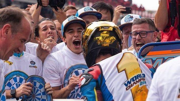 MotoGP Malaysia 2019 - Tribut Marc Marquez untuk Afridza Munandar dan Alex Marquez
