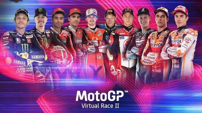 Jadwal MotoGP Virtual 2020 Akhir Pekan Ini, Pebalap Yamaha Valentino Rossi Ikut