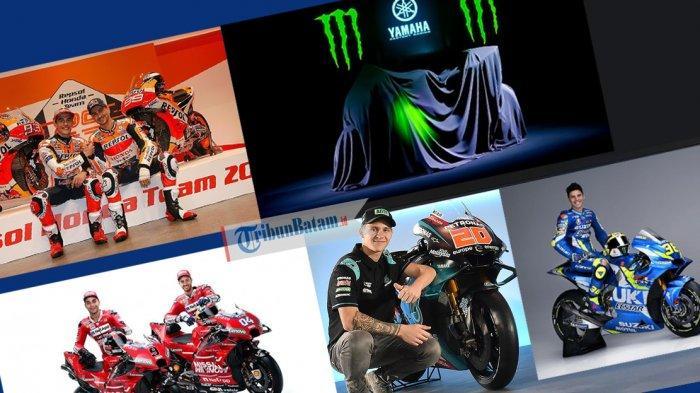 MOTOGP 2019 - Daftar Tim, Pebalap dan Jadwal Lengkap MotoGP 2019, Valentino Rossi Waspadai Ducati