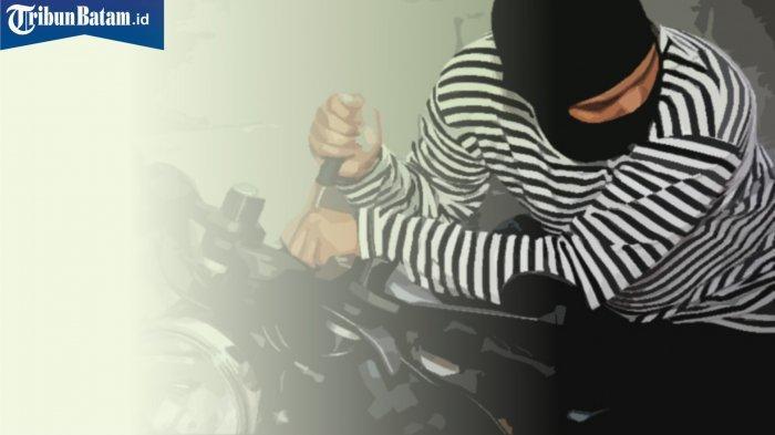 Pencurian di Batam, Motor Baru Lunas Raib saat Ditinggal Makan Malam