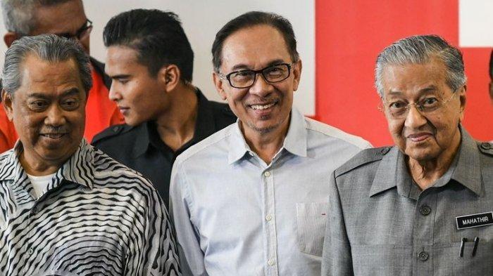Dapat Banyak Dukungan, Pemimpin Oposisi Malaysia Anwar Ibrahim Siap Gulingkan PM Muhyiddin Yassin