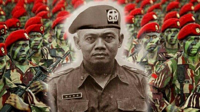 Mengenal Mung Pahardimulyo, Komandan Kopassus di Masa RPKAD. Telan Enam Telur Sanca Sekaligus