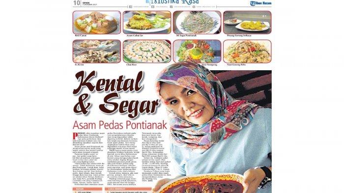 Asam Pedas Pontianak, Kuahnya Kental dan Kaya Rempah. Hanya di Warkop Gratinda.com
