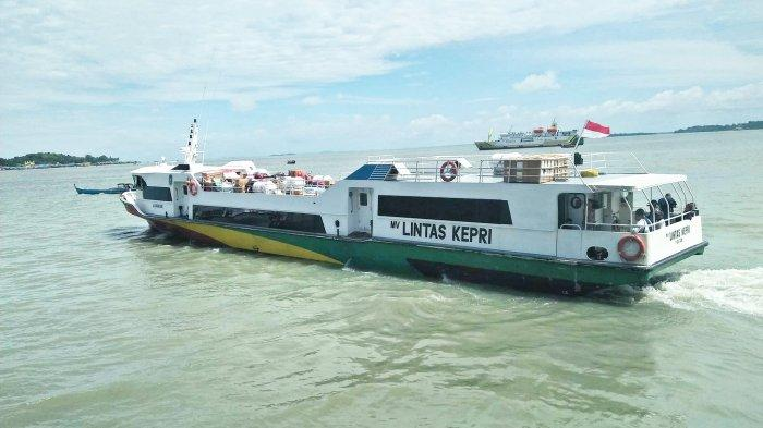 MV Lintas Kepri Bakal Singgah ke Desa Mensanak Lingga Mulai Hari Ini
